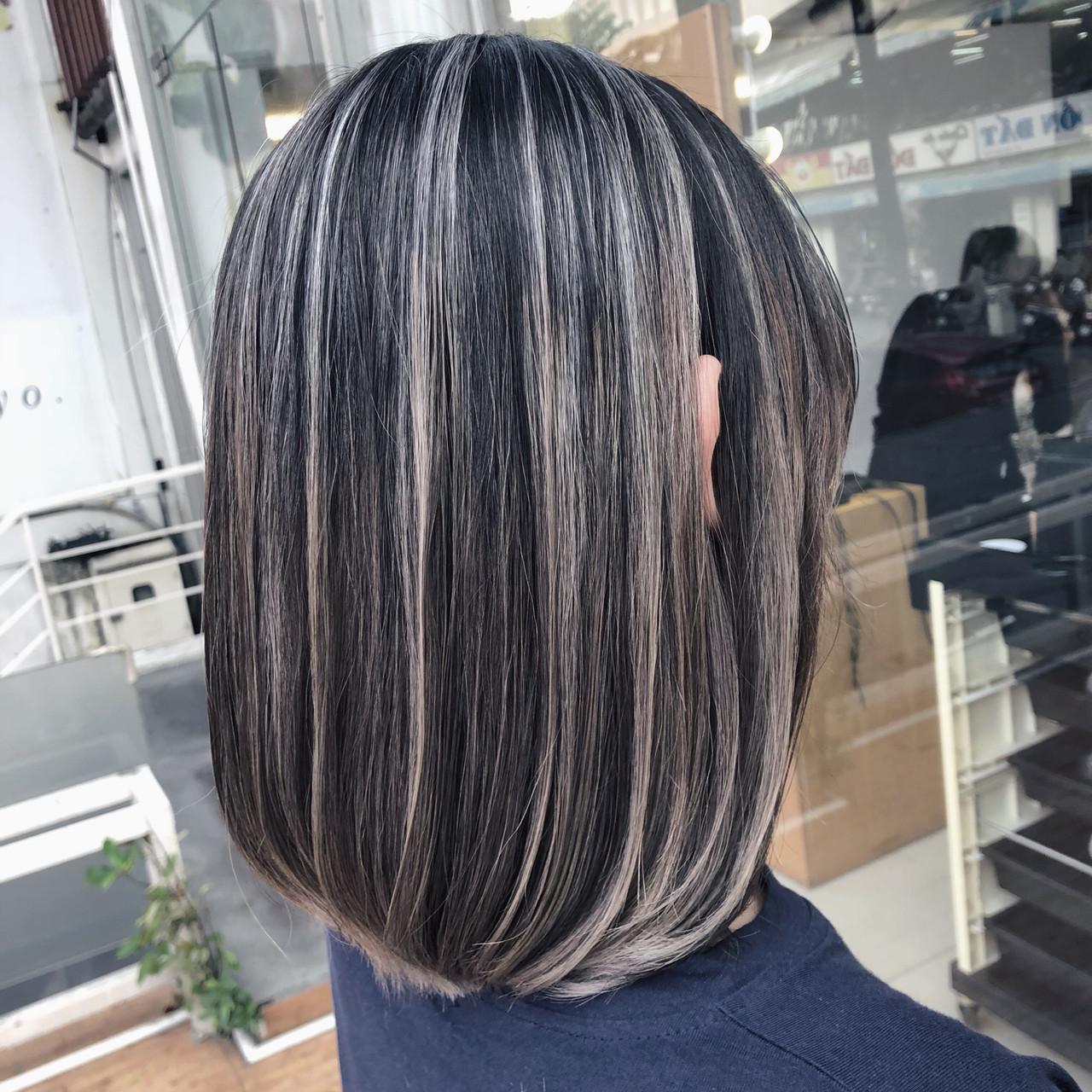 切りっぱなしボブ ナチュラル ショートヘア ベリーショート ヘアスタイルや髪型の写真・画像