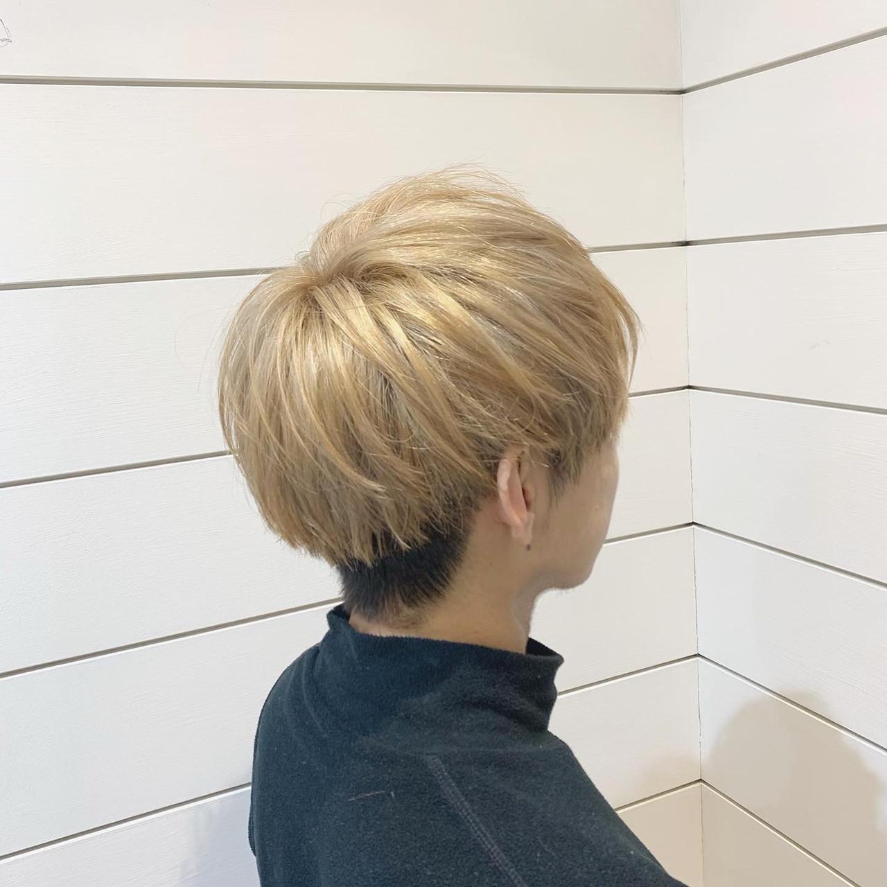 メンズマッシュ 韓国ヘア ショート ナチュラル ヘアスタイルや髪型の写真・画像