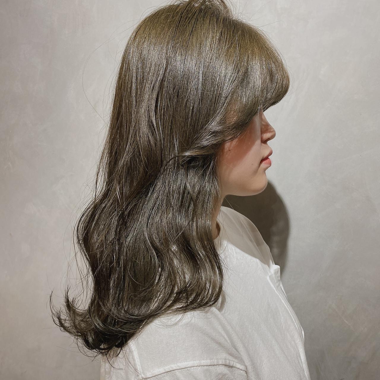 ナチュラル ミニボブ 切りっぱなしボブ 韓国ヘア ヘアスタイルや髪型の写真・画像