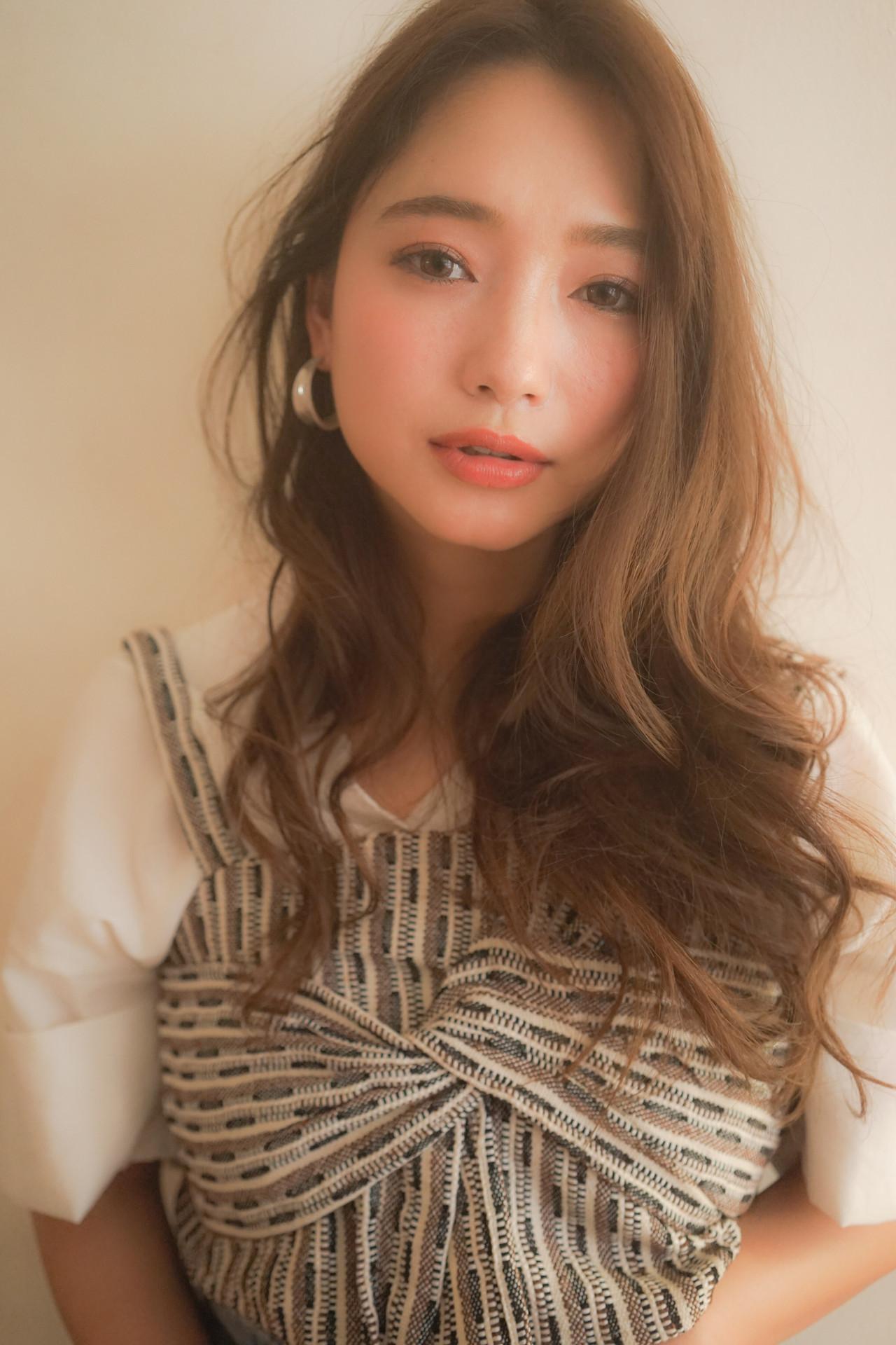 ワンカールパーマ ラベンダーグレージュ ゆるふわパーマ ワンカール ヘアスタイルや髪型の写真・画像