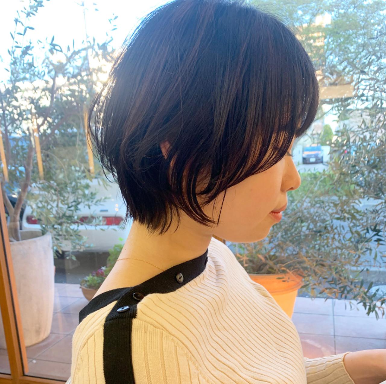 ウルフカット ショート ウルフ女子 ナチュラルウルフ ヘアスタイルや髪型の写真・画像