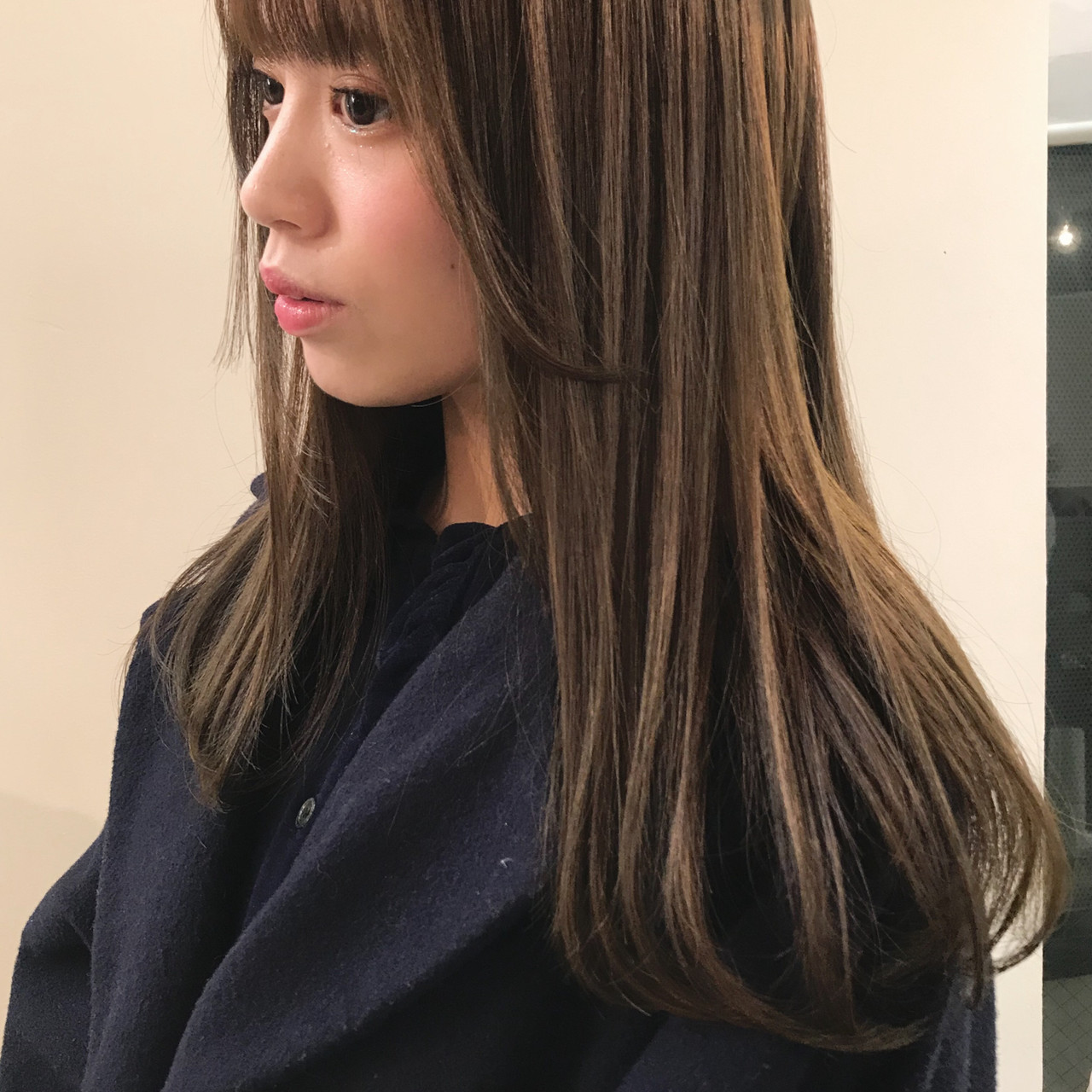 ナチュラル ロング 透明感カラー オーガニック ヘアスタイルや髪型の写真・画像
