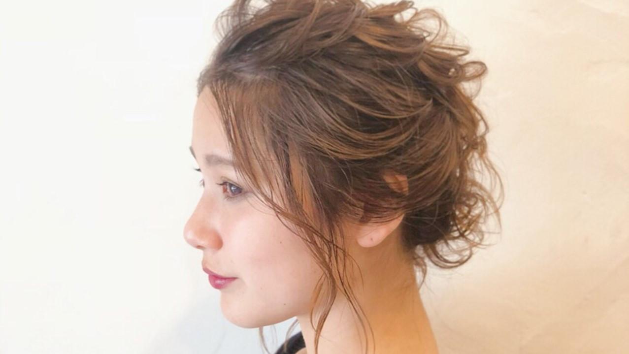 親族×友人結婚式のお呼ばれ髪型はどうする?失敗なしのヘアカタログ!