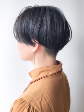 ハンサムショート 黒髪 ショート コンサバ ヘアスタイルや髪型の写真・画像
