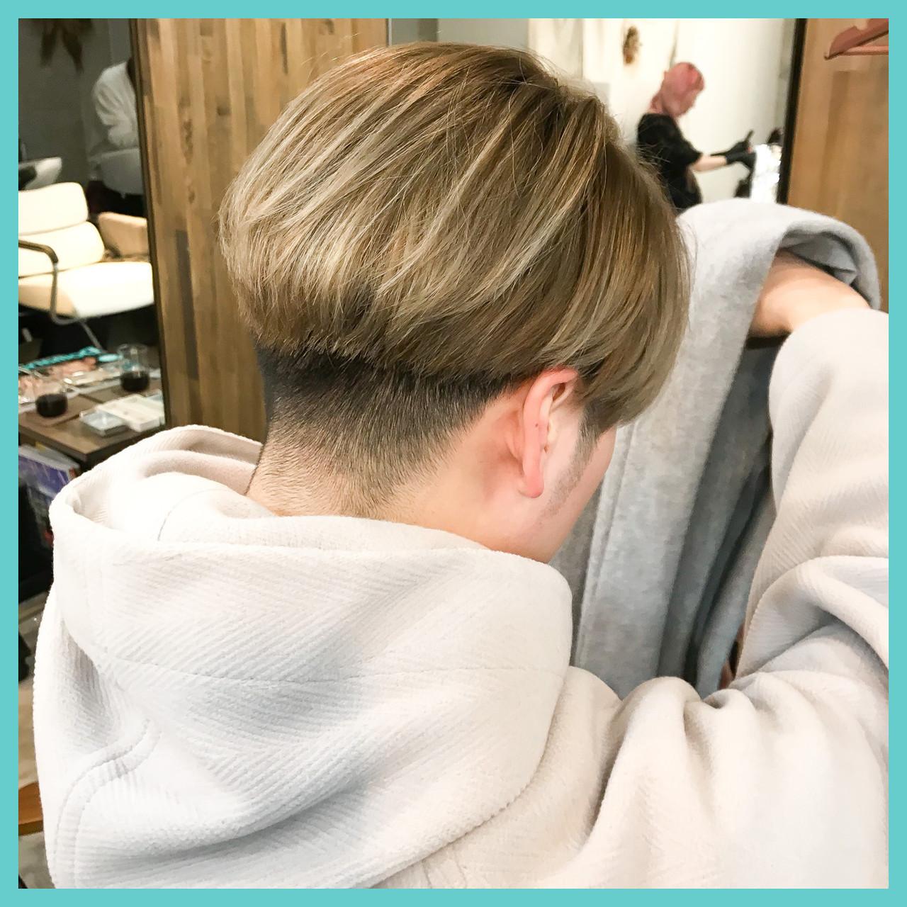 ストリート メンズカラー メンズカット ショートヘア ヘアスタイルや髪型の写真・画像