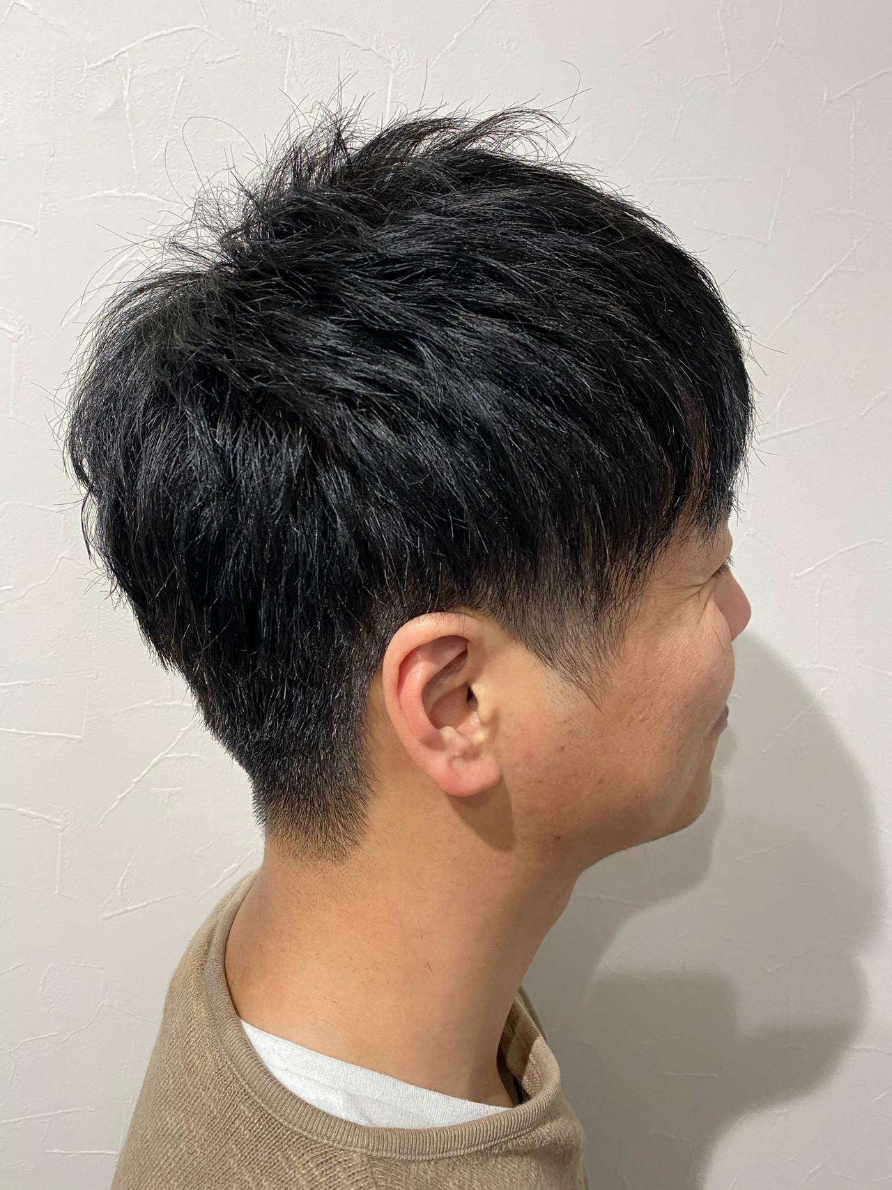 メンズカット ショート メンズショート ストリート ヘアスタイルや髪型の写真・画像