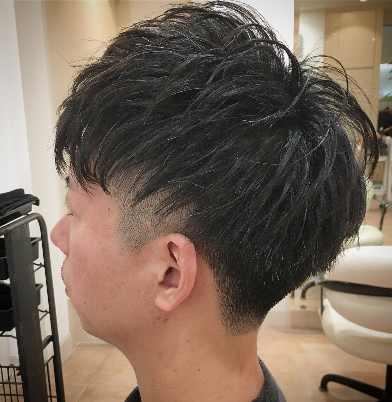 ストリート ツーブロック ショート 刈り上げ ヘアスタイルや髪型の写真・画像