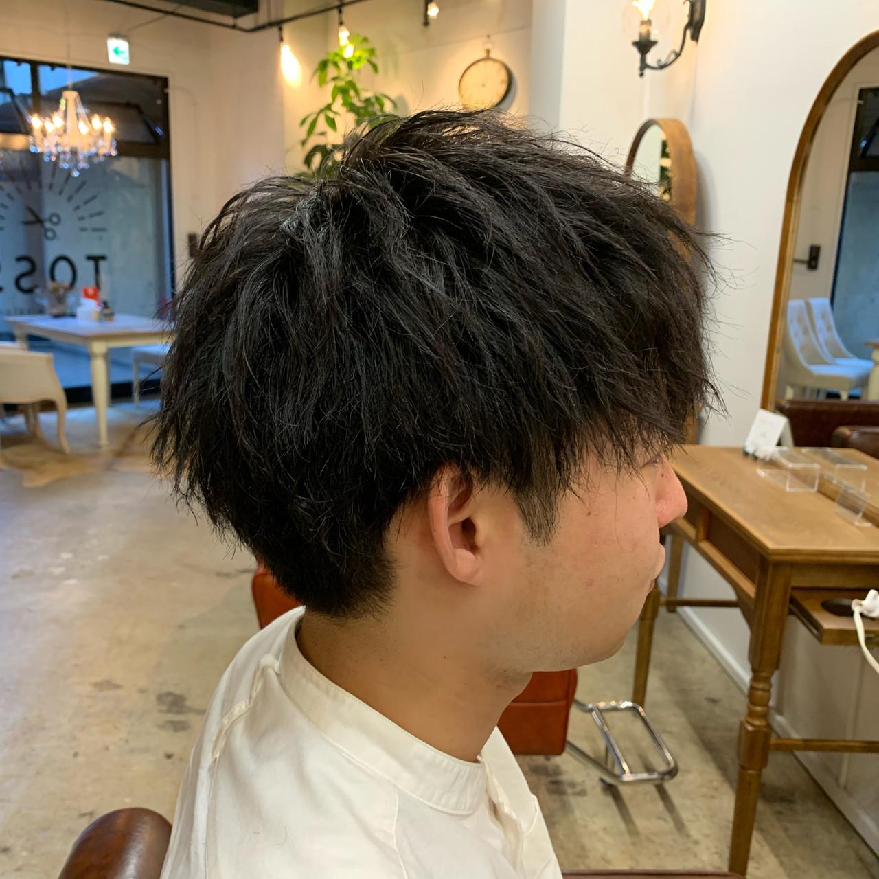 ストリート メンズ ショートボブ ショート ヘアスタイルや髪型の写真・画像