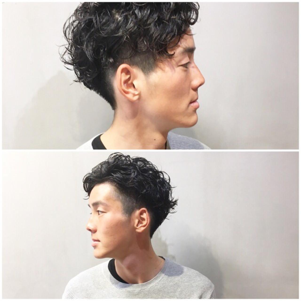 メンズショート ショートボブ ショート ハンサムショート ヘアスタイルや髪型の写真・画像