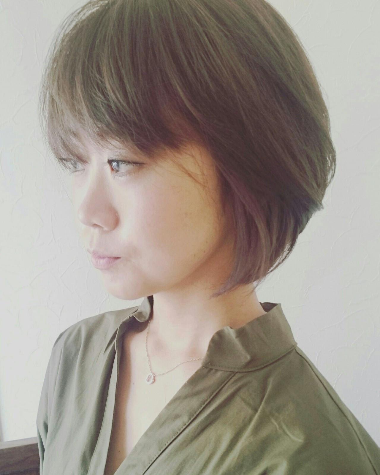 ハイトーンカラー コンサバ ベリーショート ツーブロック ヘアスタイルや髪型の写真・画像