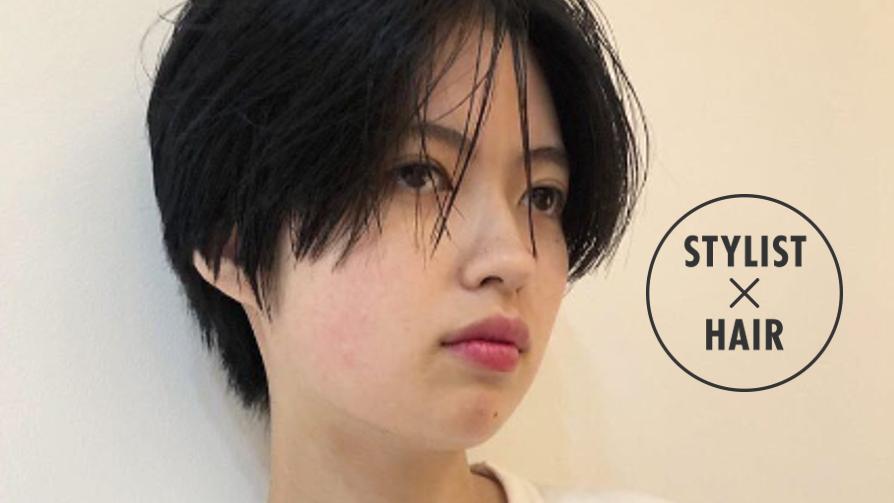 【顔型別】美容師に教わる、自分に似合うショートヘアの見つけ方