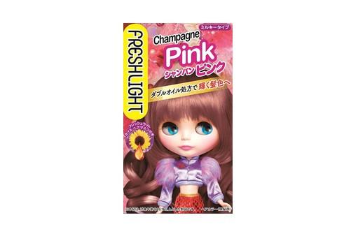 ピンク:フレッシュライト フレッシュライト ミルキーヘアカラー シャンパンピンク