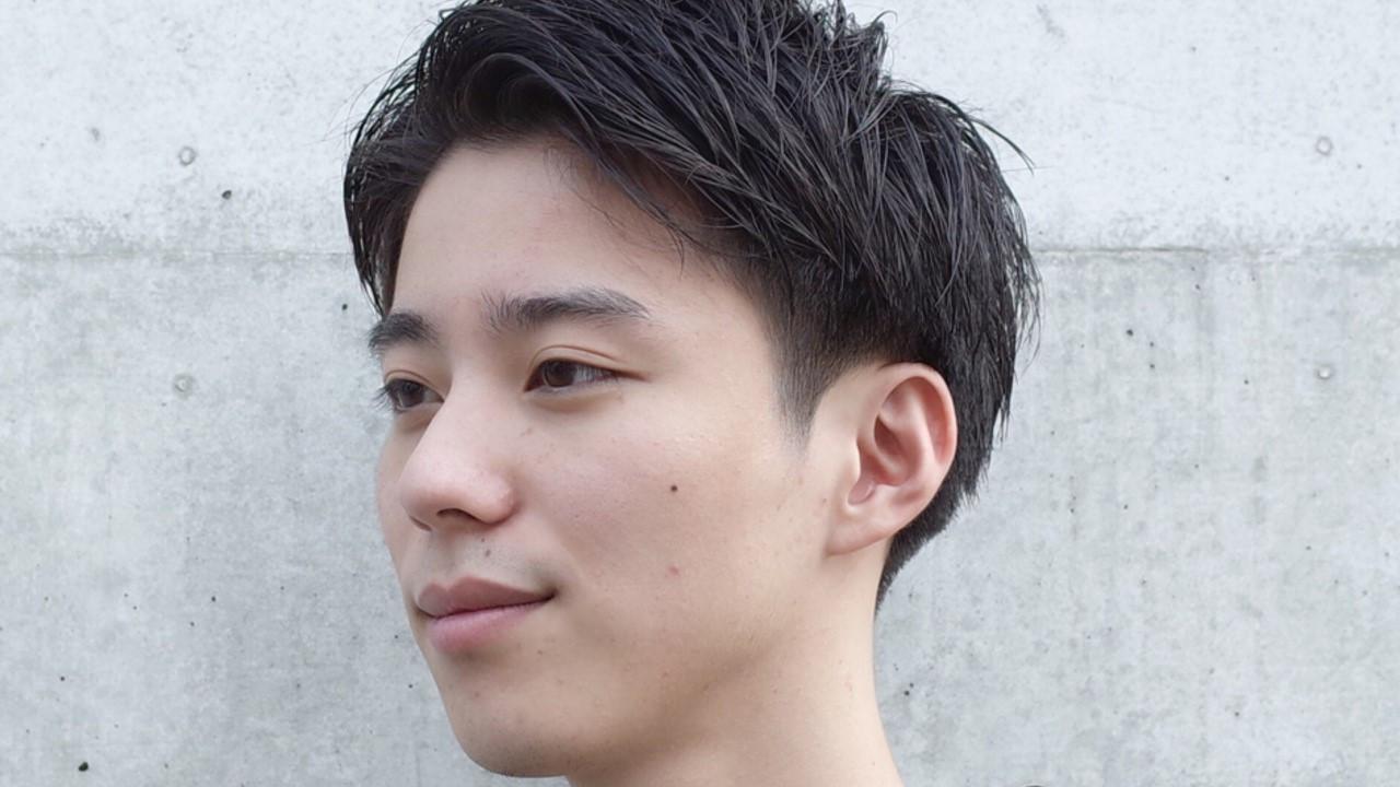 田中圭風髪型になろう!好感度抜群ヘアスタイルのオーダー・セット方法