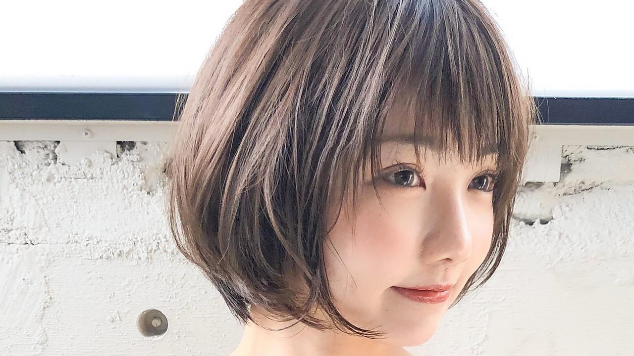 【長さ別】小顔見せ360度最強のフォルムヘアスタイルでコンプ克服♡