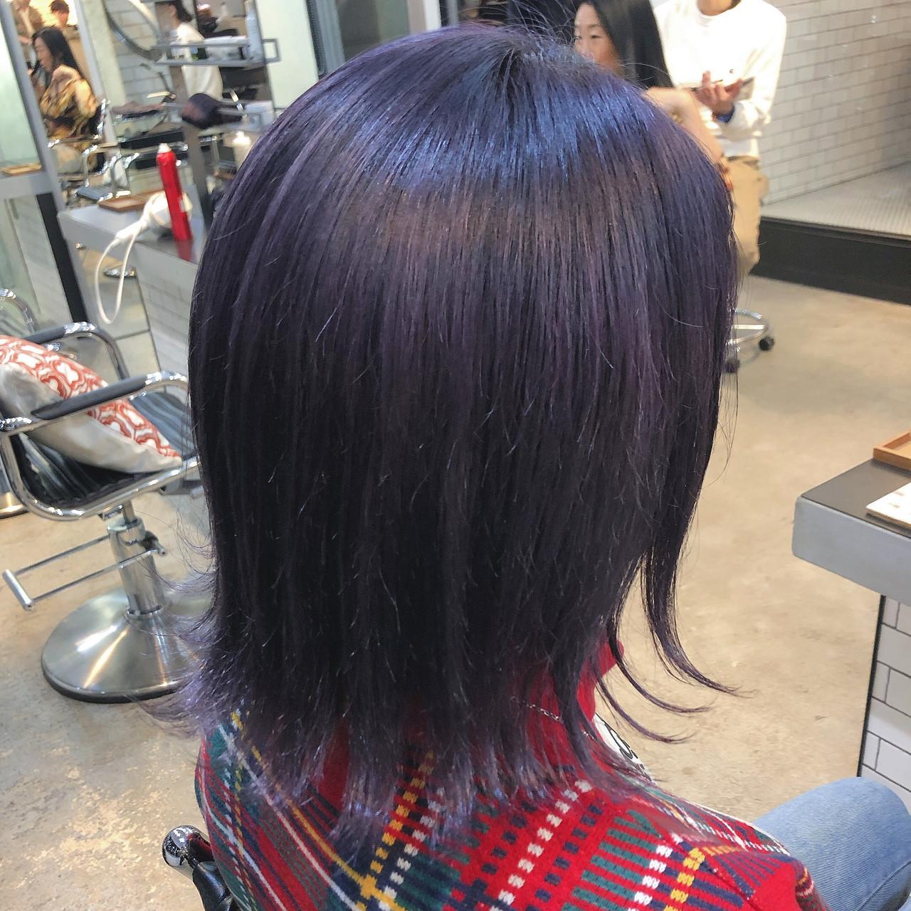 染めたてと色落ち後の二度楽しめるヘアカラー♡それぞれの良さを味わえる!