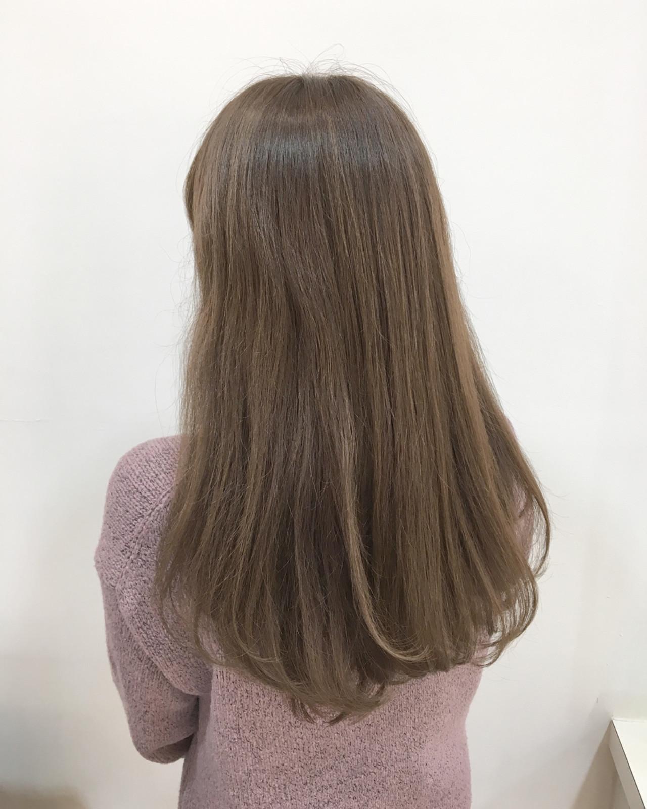 ピンク おフェロ ロング 大人女子 ヘアスタイルや髪型の写真・画像