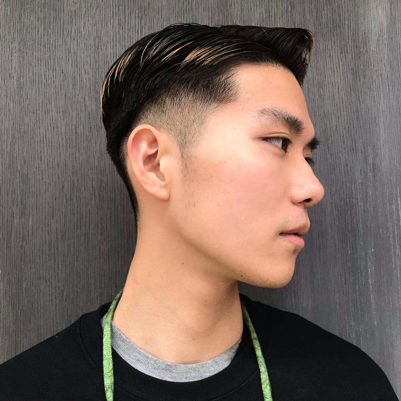 ショート メンズカラー ストリート メンズヘア ヘアスタイルや髪型の写真・画像