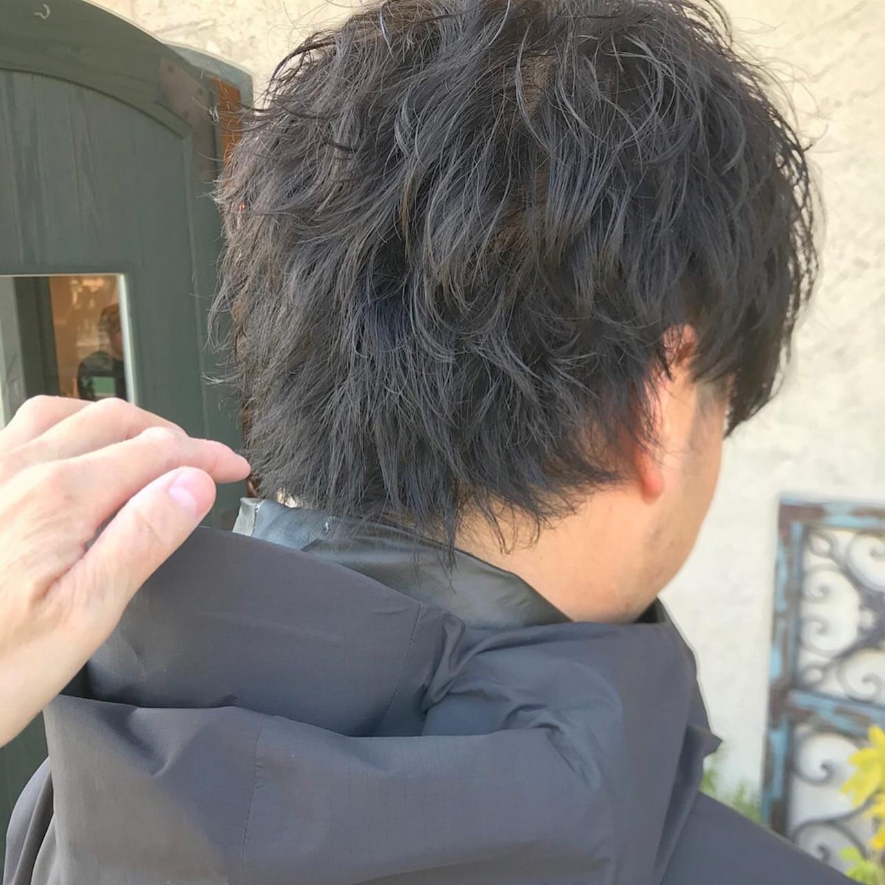 毛先パーマ ストリート ツイスト スパイラルパーマ ヘアスタイルや髪型の写真・画像