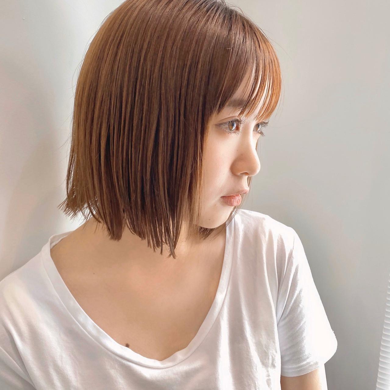ショートヘア ショートボブ ナチュラル ボブ ヘアスタイルや髪型の写真・画像