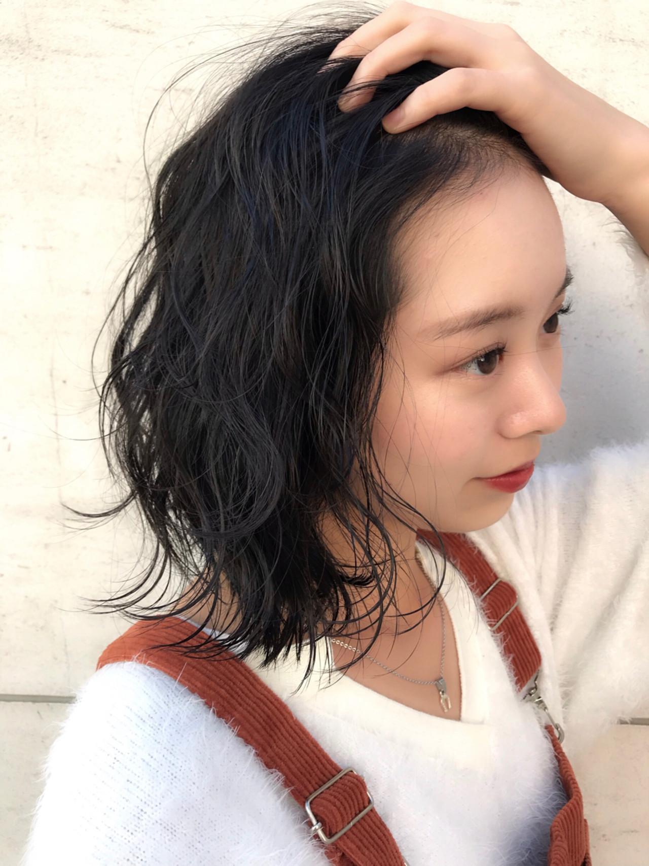 女子力 ニュアンス ウェーブ ゆるふわ ヘアスタイルや髪型の写真・画像