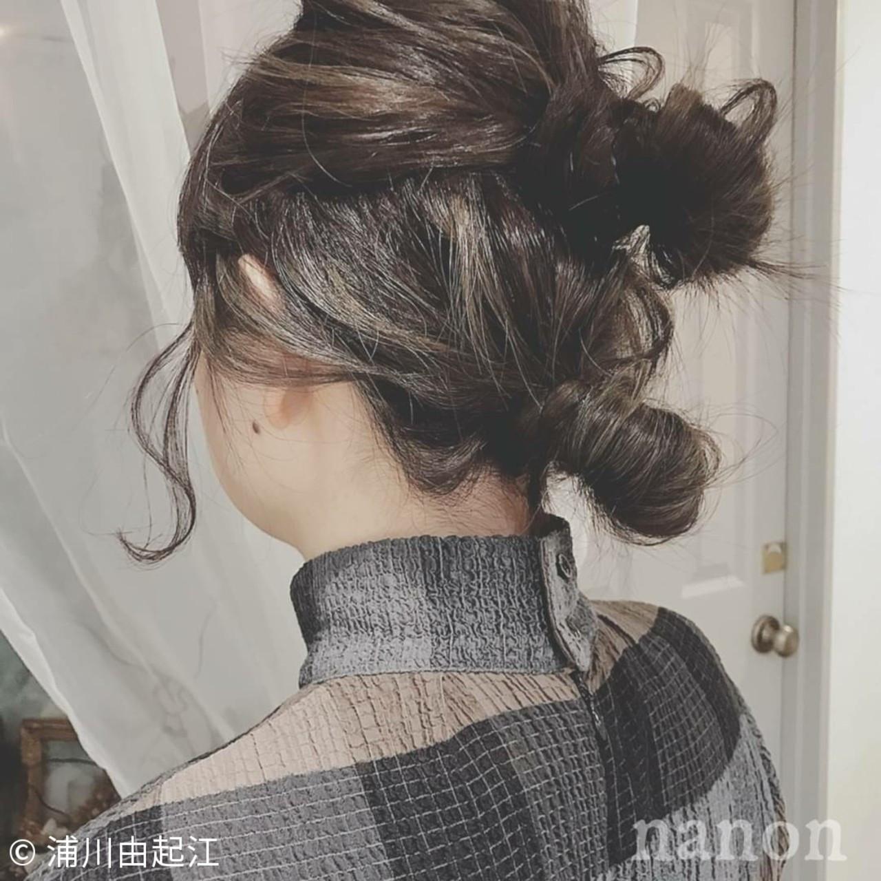 モテ髪 ナチュラル グラデーションカラー デート ヘアスタイルや髪型の写真・画像