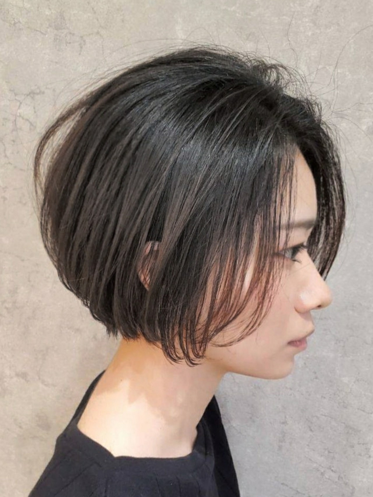 ナチュラル インナーカラー ボブ ショートヘア ヘアスタイルや髪型の写真・画像