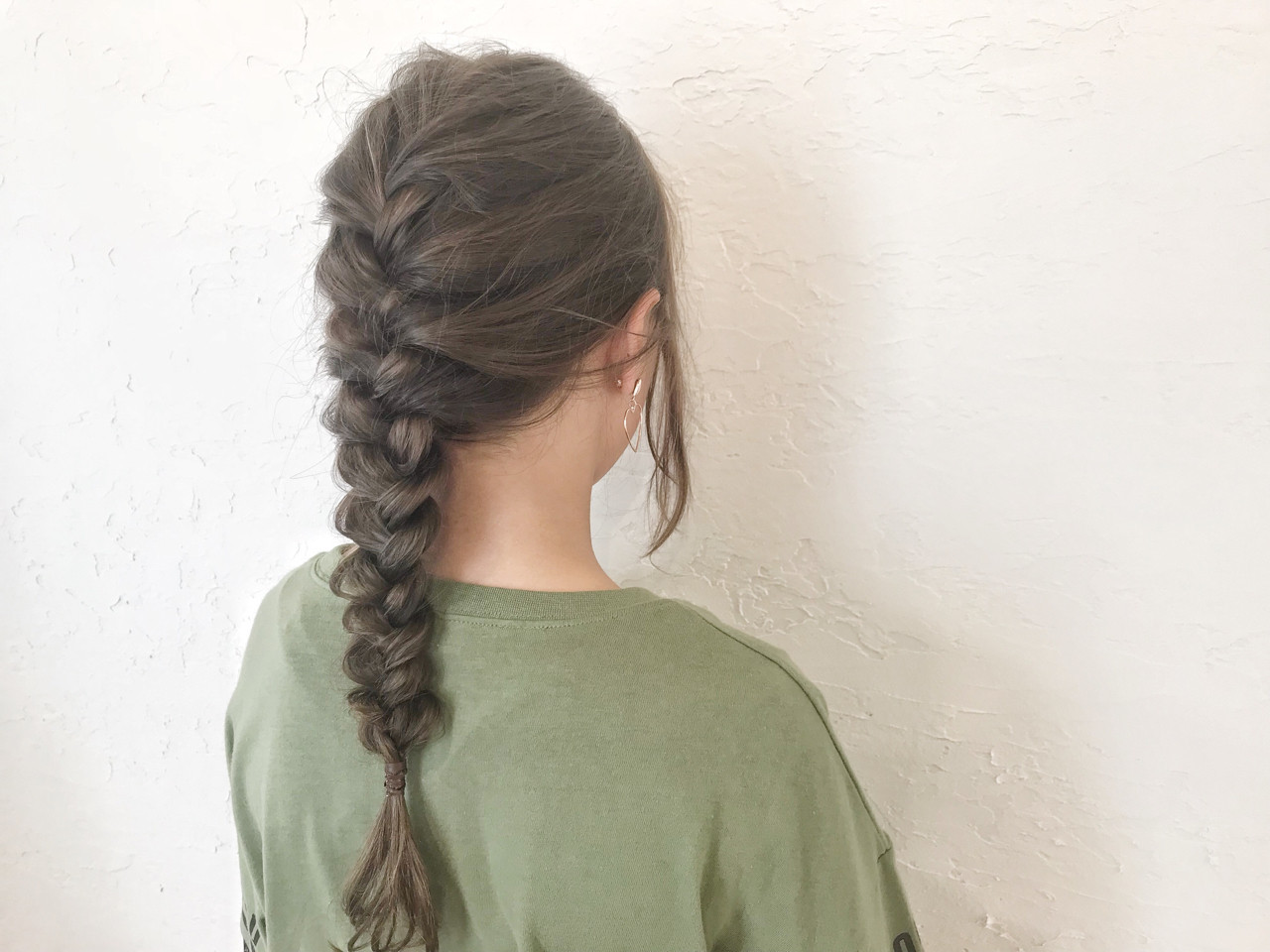 ロング フェミニン ヘアアレンジ 子供 ヘアスタイルや髪型の写真・画像