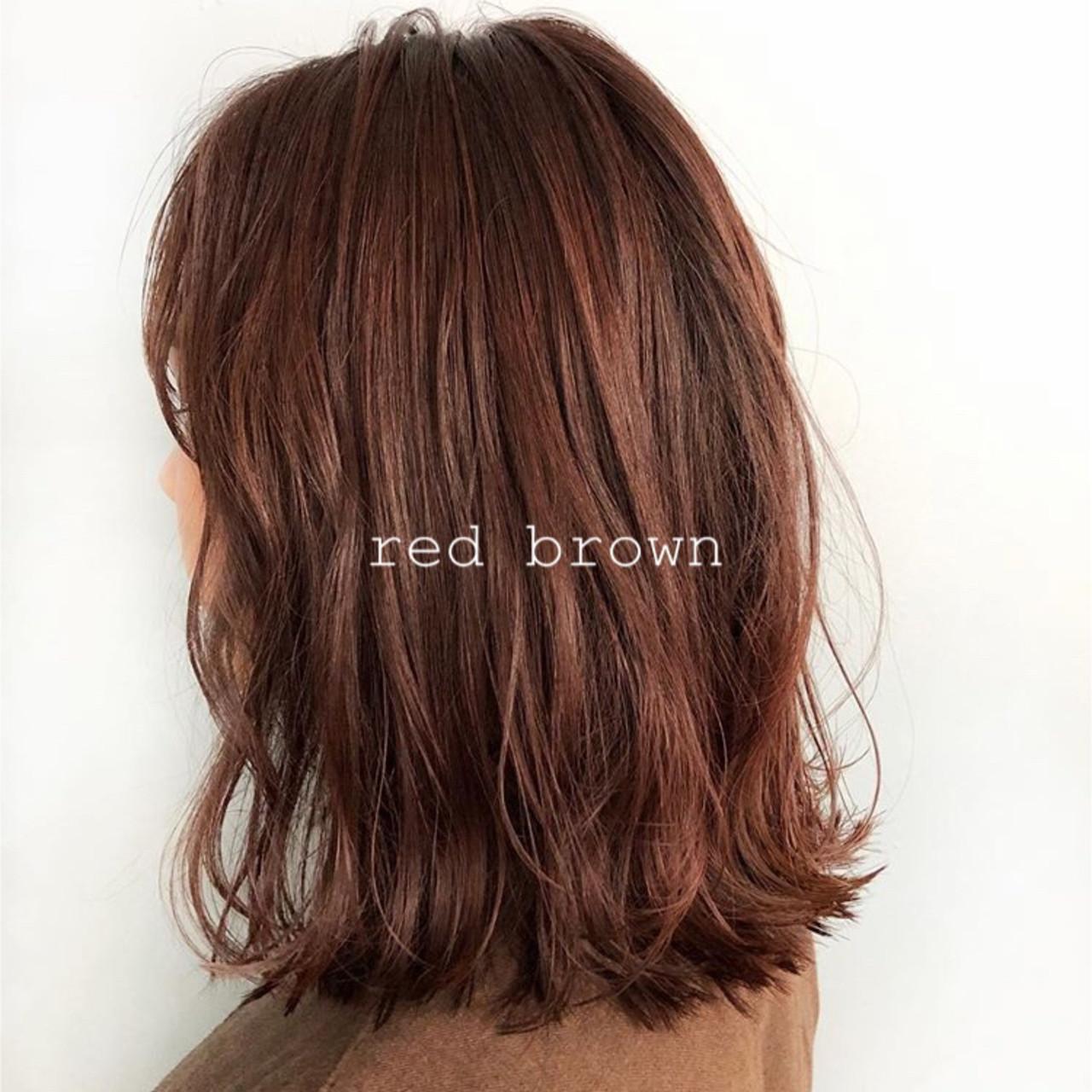 アッシュブラウン ナチュラル ミディアム 透明感カラー ヘアスタイルや髪型の写真・画像