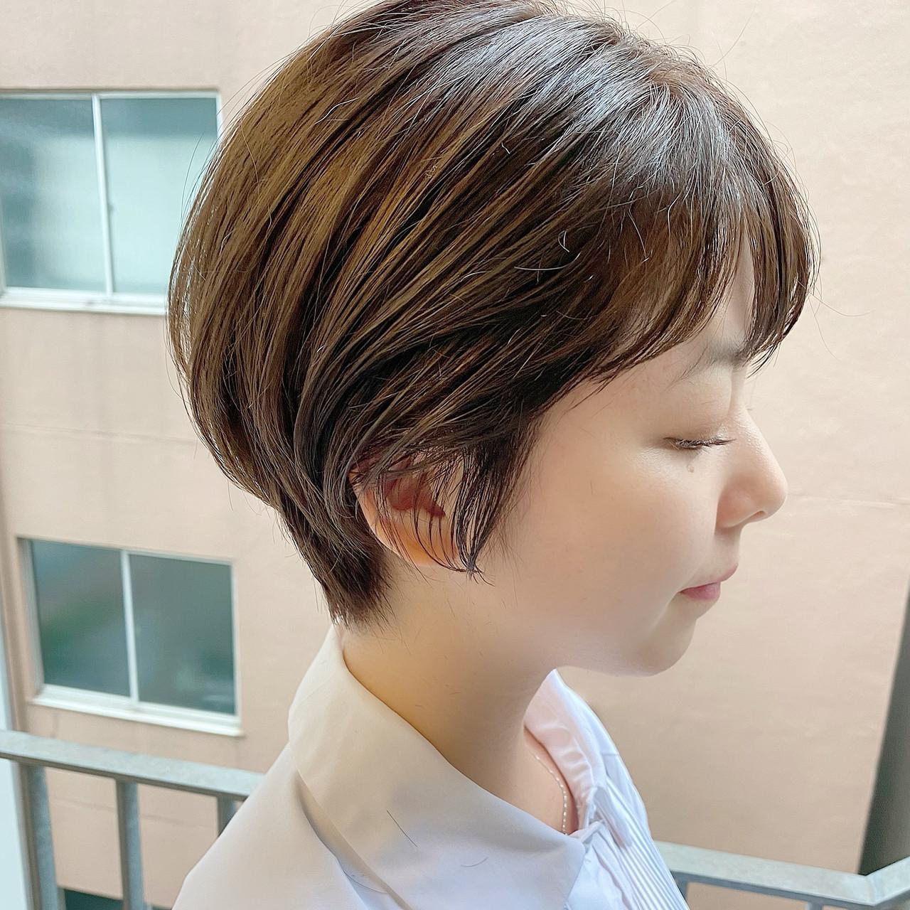 ショート ベリーショート 大人可愛い ショートボブ ヘアスタイルや髪型の写真・画像