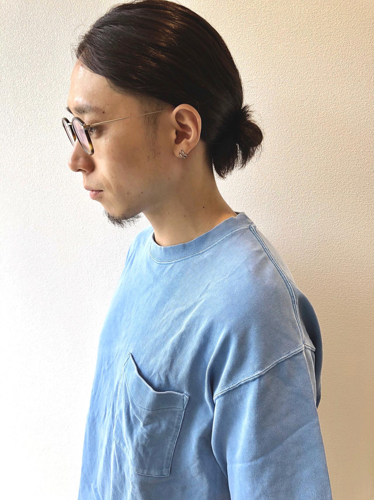 メンズカジュアル ロング メンズヘア メンズ ヘアスタイルや髪型の写真・画像