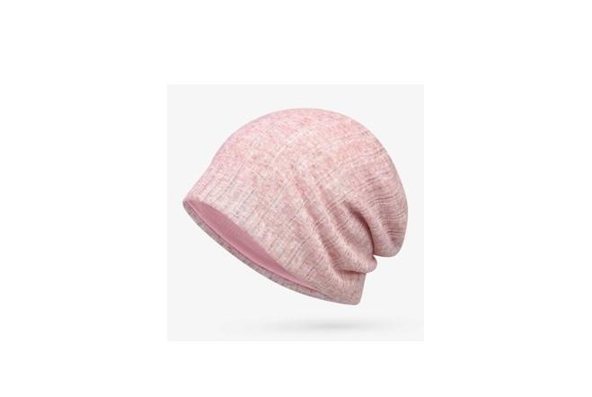 KISSTYLE ガーゼ生地 帽子 ピンク