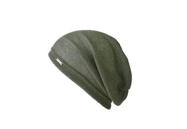 CHARM サマーニット帽 カーキ