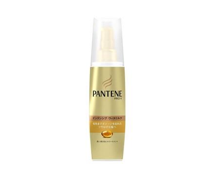 毛先まで潤う髪に「洗い流さないトリートメント インテンシブヴィタミルク 毛先まで傷んだ髪用」