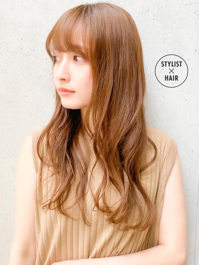 ゆるふわパーマ ナチュラル デジタルパーマ ゆるふわセット ヘアスタイルや髪型の写真・画像