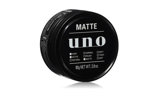束感ある髪に仕上げる「ウーノ マットエフェクター 80g ワックス」