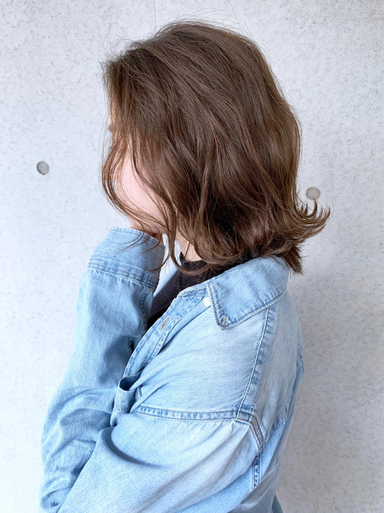エアウェーブ ナチュラル ゆるウェーブ ヘアアレンジ ヘアスタイルや髪型の写真・画像