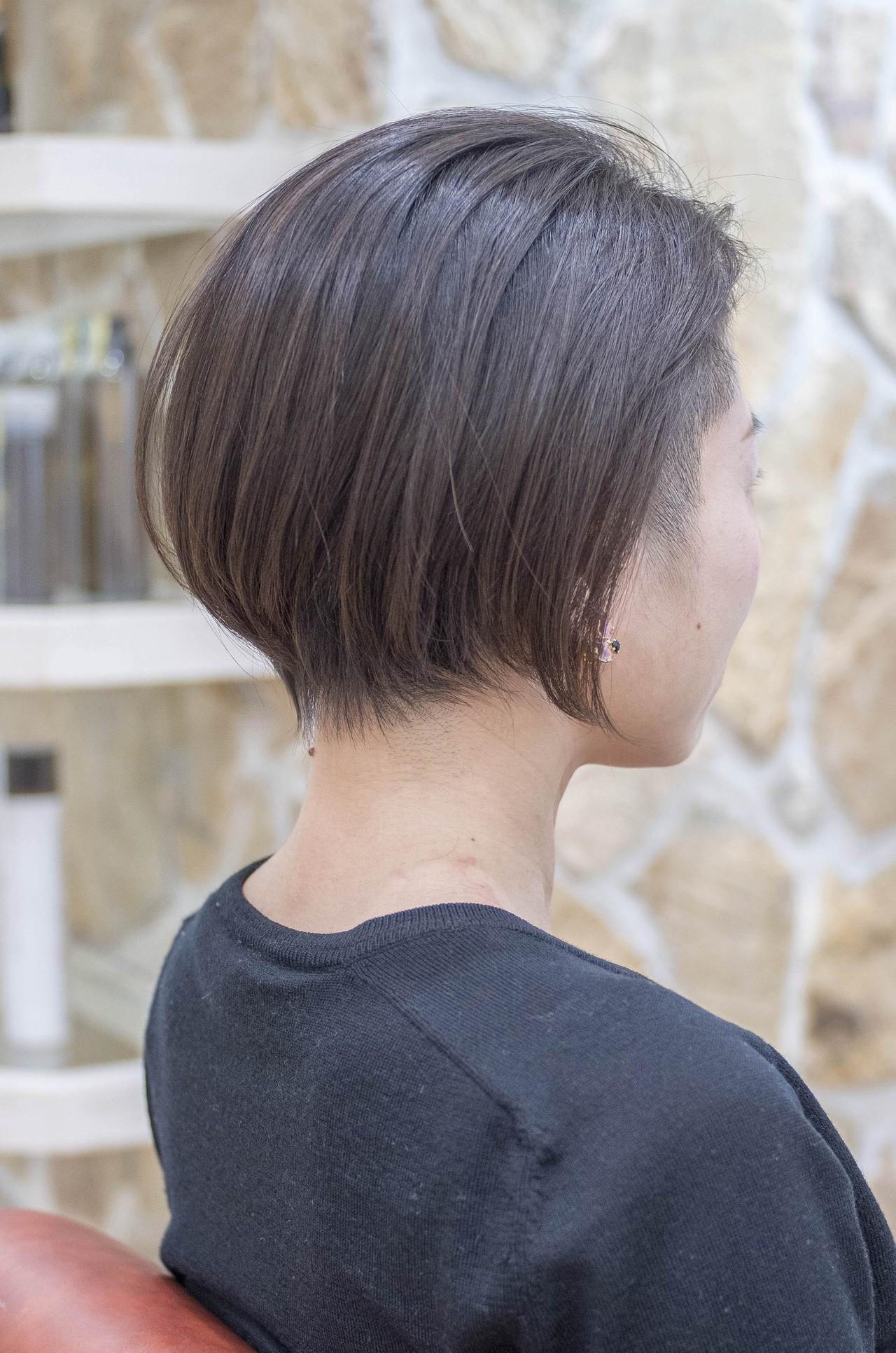ハンサムショート ストリート 個性的 ツーブロック ヘアスタイルや髪型の写真・画像