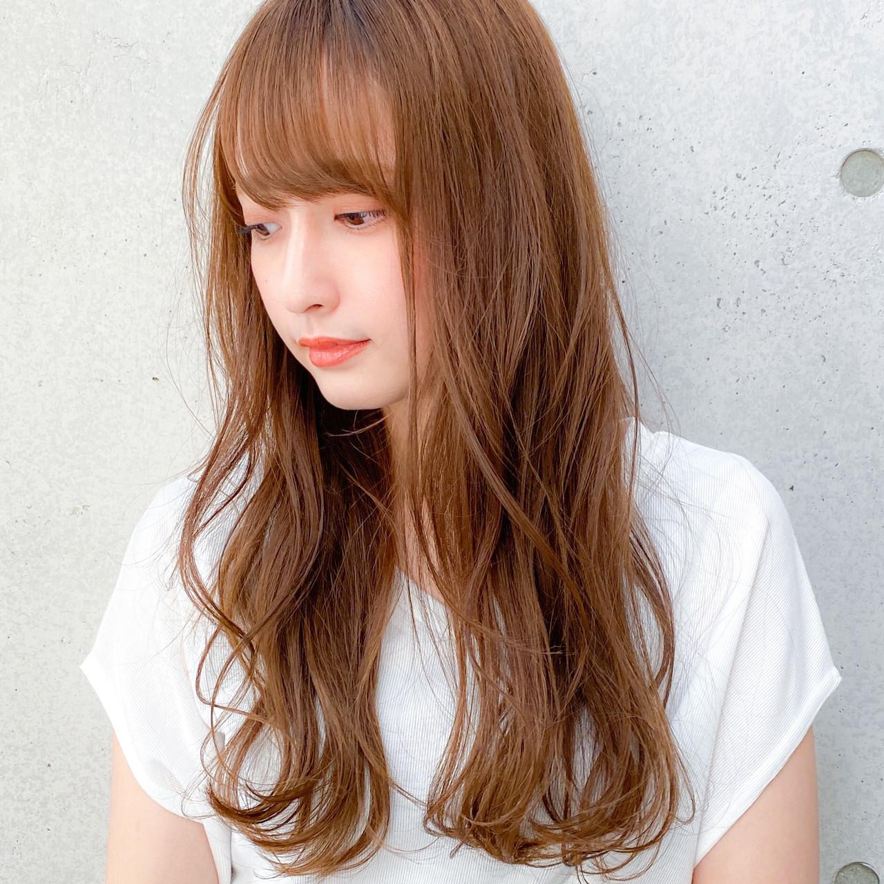 レイヤー レイヤーカット レイヤーロングヘア ロング ヘアスタイルや髪型の写真・画像