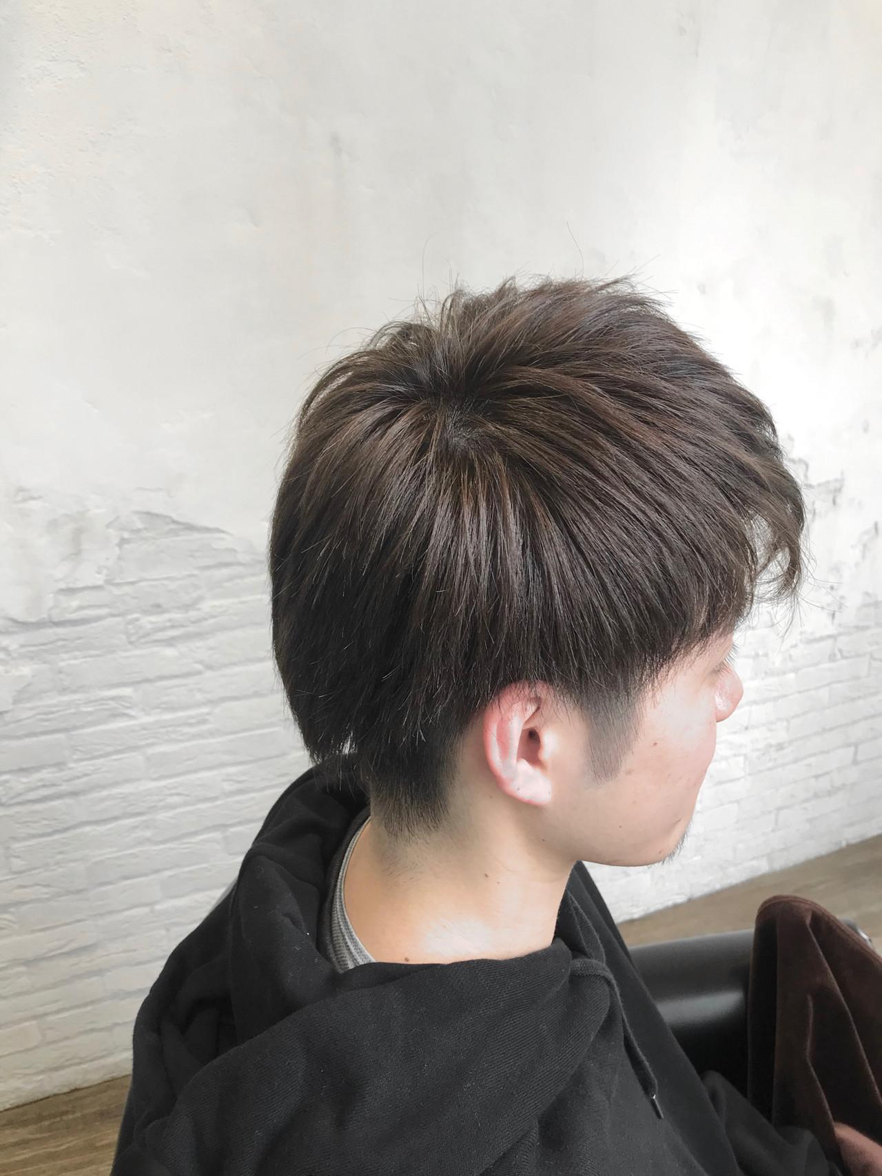 メンズカラー メンズヘア ストリート ツーブロック ヘアスタイルや髪型の写真・画像