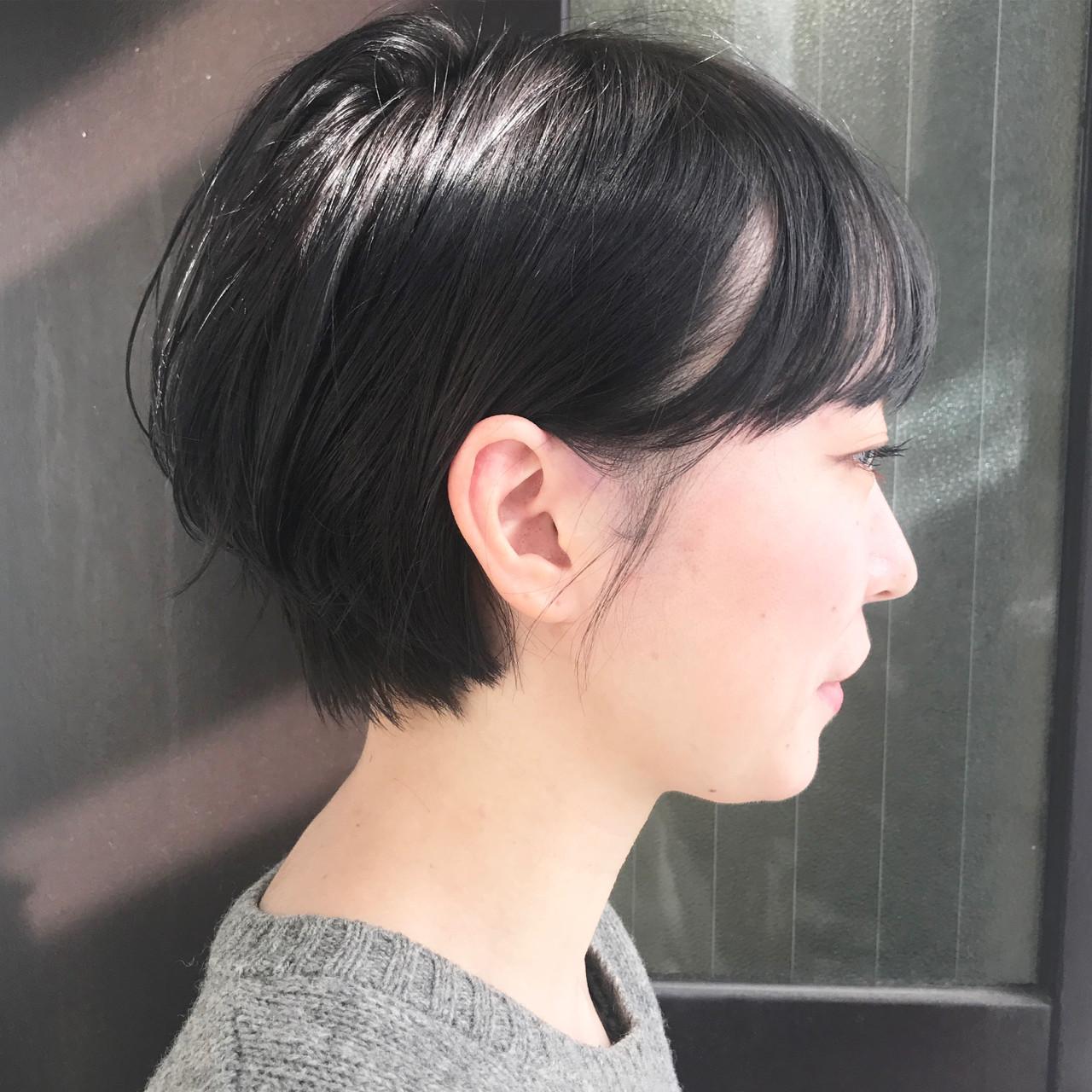 ブリーチ ショートボブ ナチュラル ショート ヘアスタイルや髪型の写真・画像