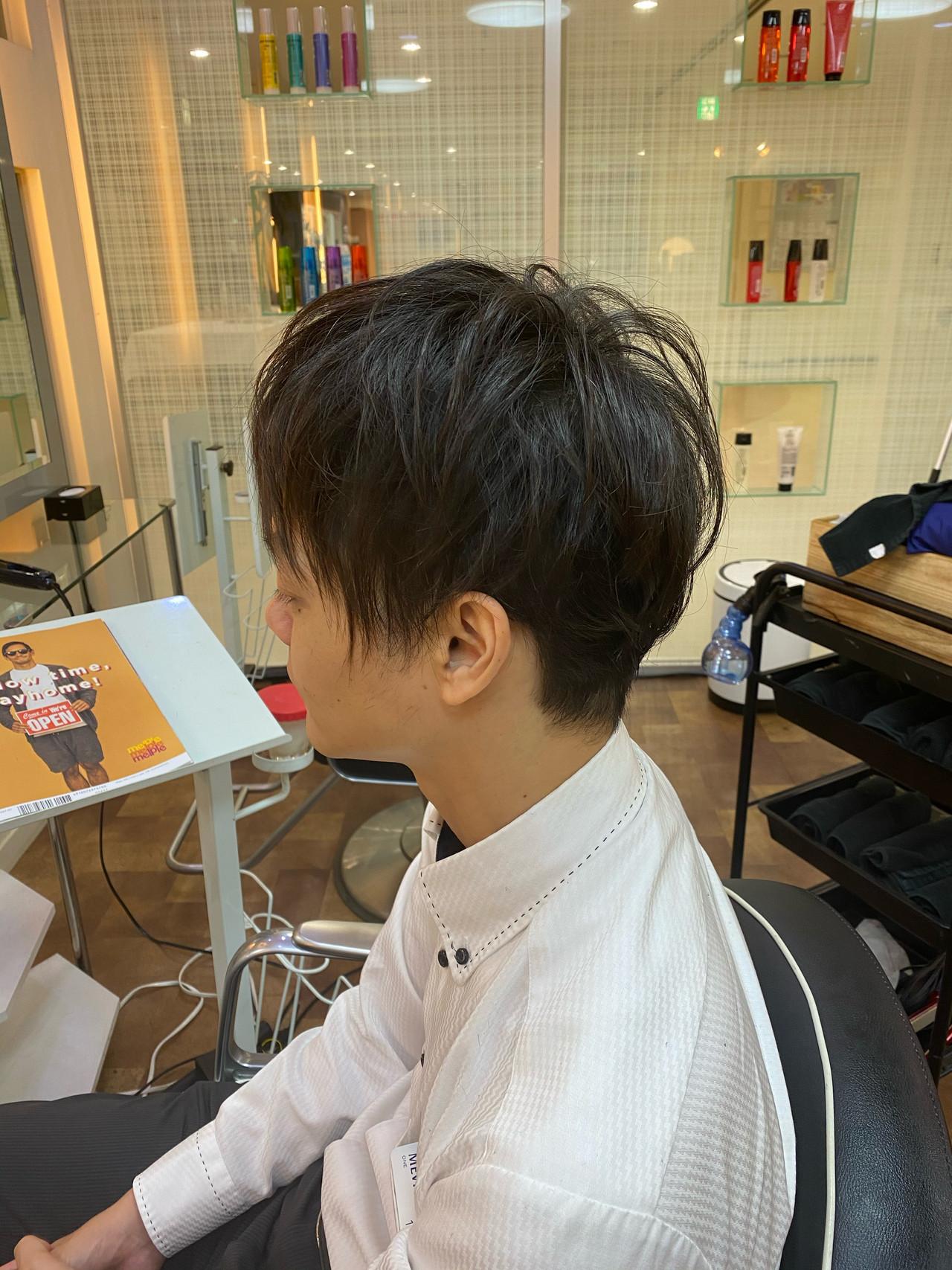 ツーブロック メンズカット メンズスタイル ショート ヘアスタイルや髪型の写真・画像