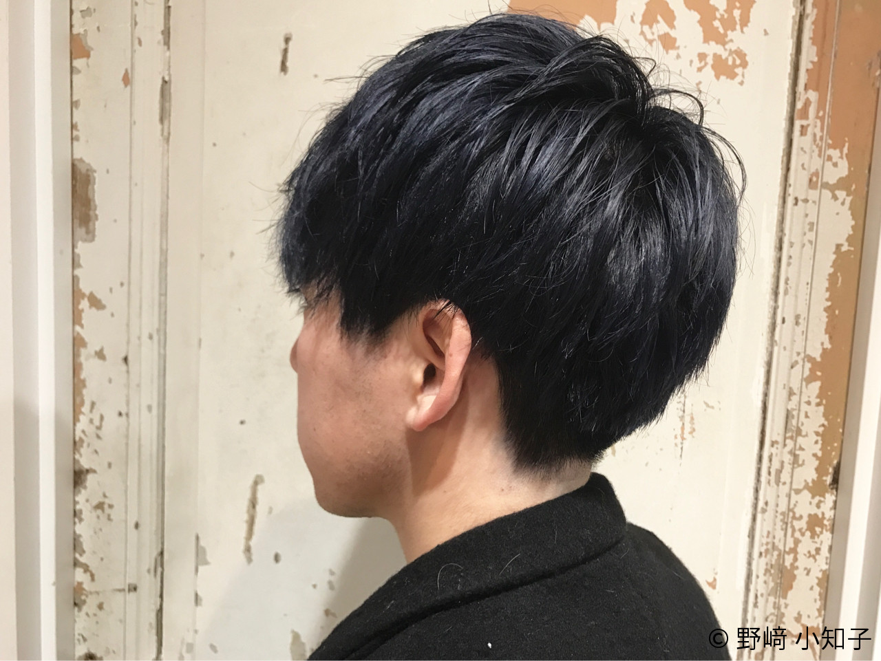 モード ブルージュ メンズ ショート ヘアスタイルや髪型の写真・画像