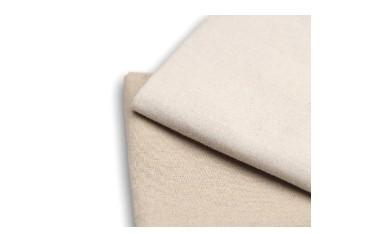 本体用の布を折ってベルト布を接着剤でつける