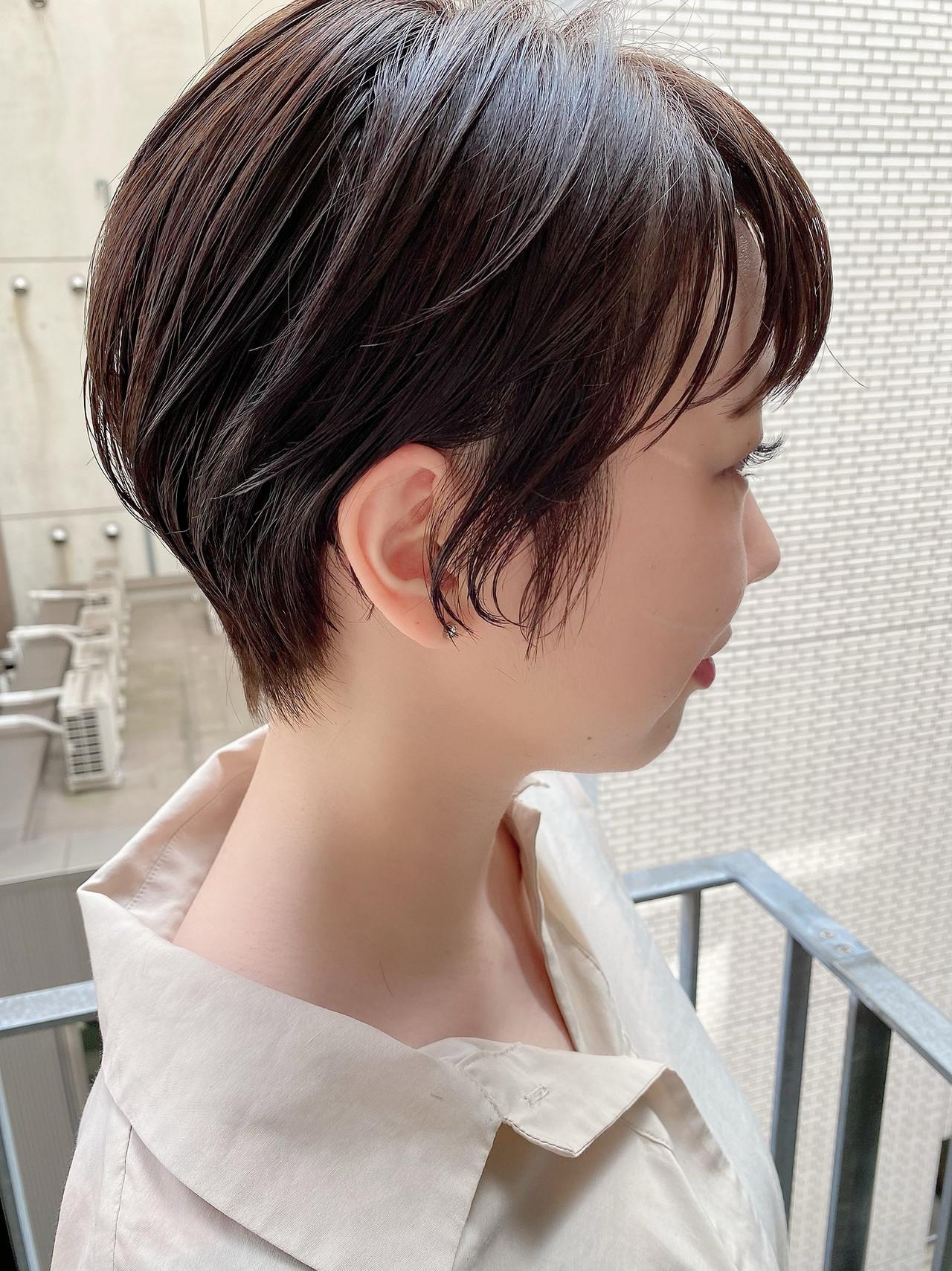 デート ショート ショートヘア ベリーショート ヘアスタイルや髪型の写真・画像