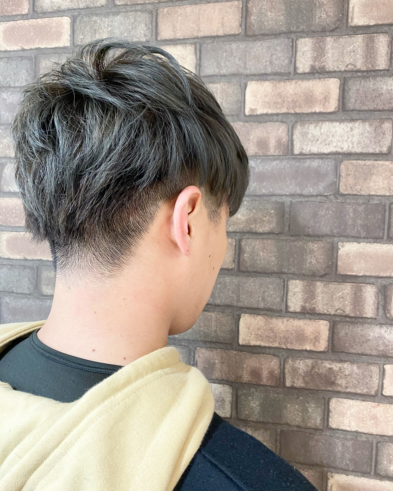 ナチュラル ショート メンズマッシュ イルミナカラー ヘアスタイルや髪型の写真・画像