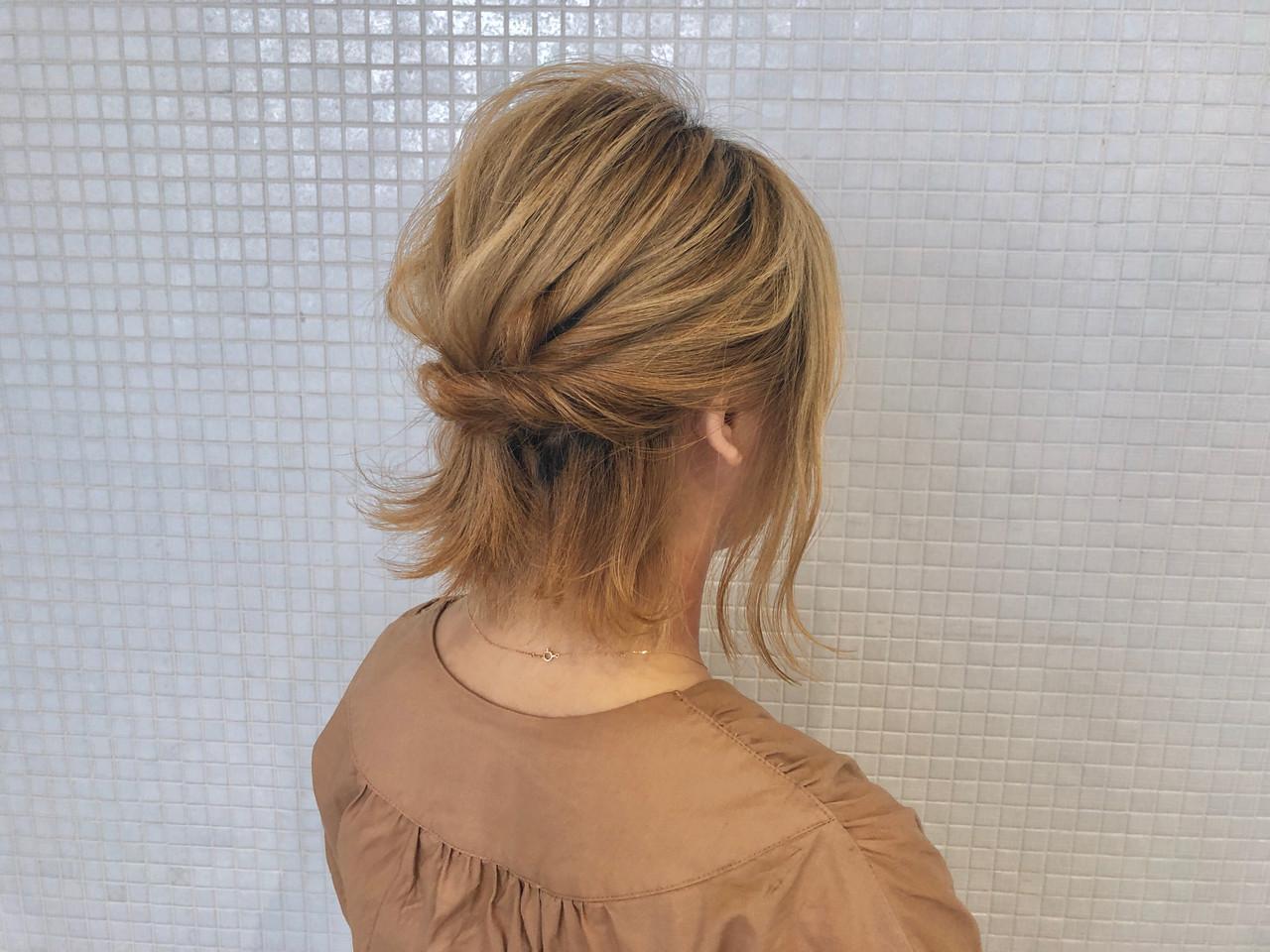 ハーフアップ 浴衣アレンジ 浴衣ヘア 簡単ヘアアレンジ ヘアスタイルや髪型の写真・画像