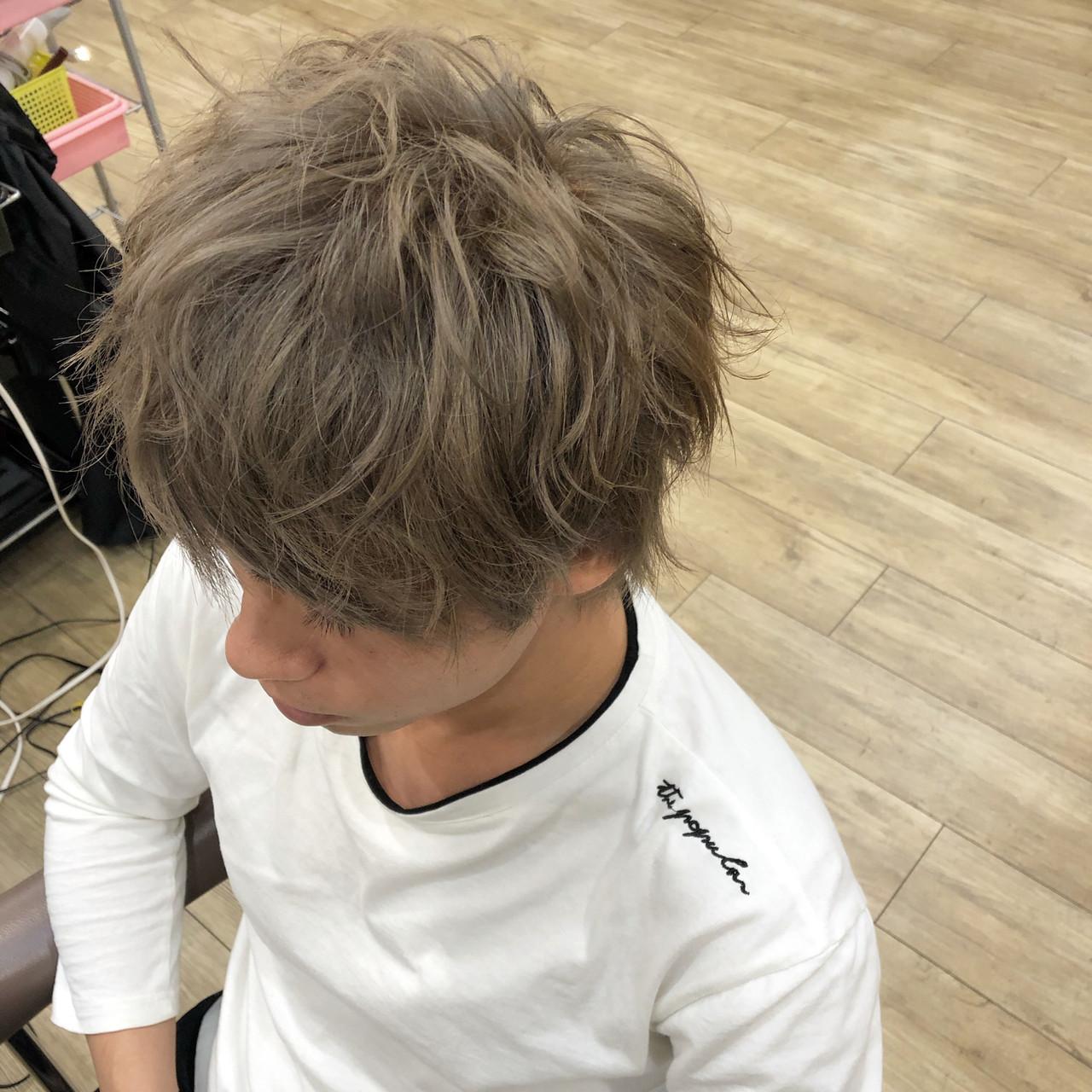 ウルフカット ショート ナチュラル ショートヘア ヘアスタイルや髪型の写真・画像