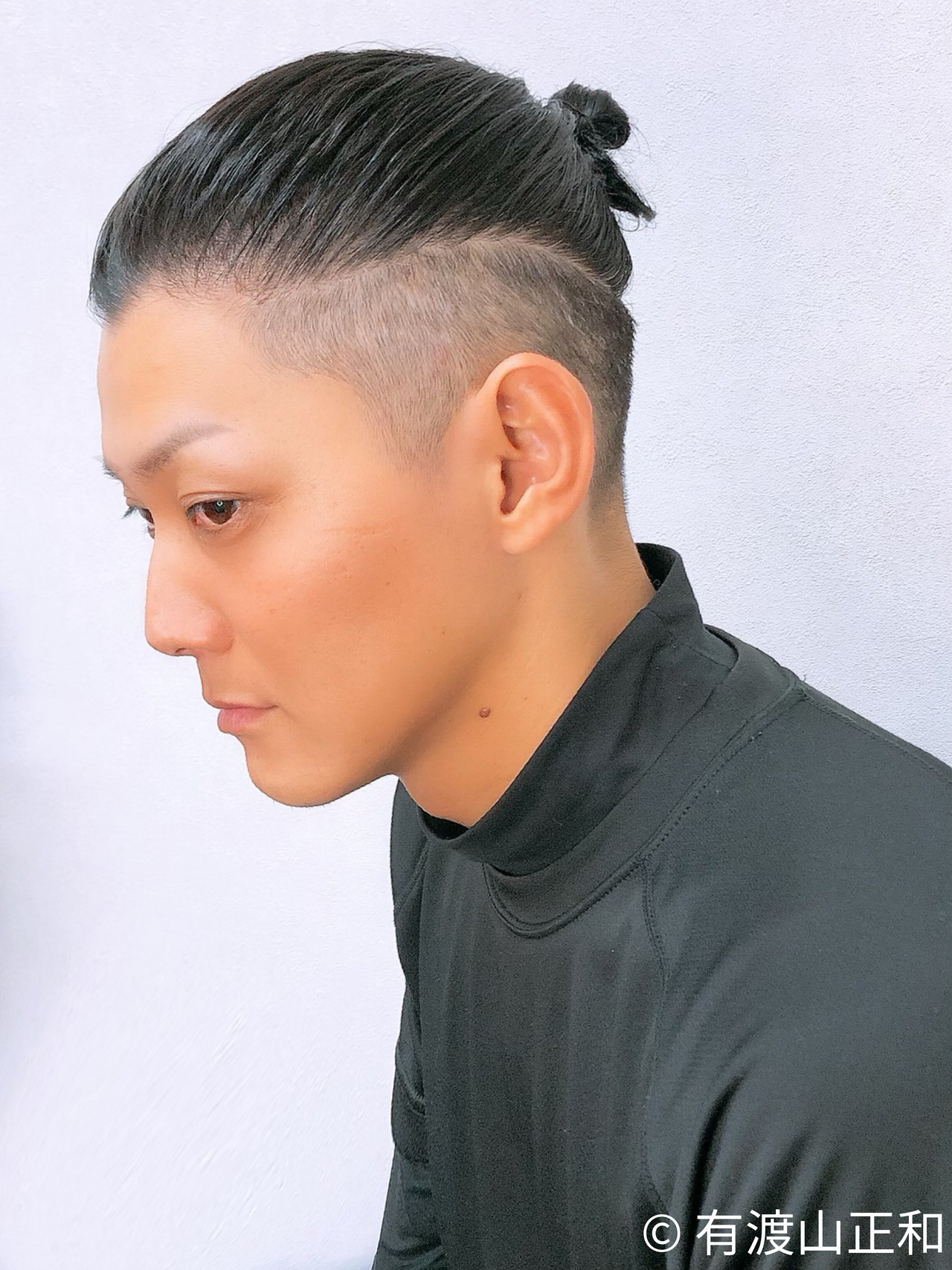 大人ロング ロング モード フェードカット ヘアスタイルや髪型の写真・画像