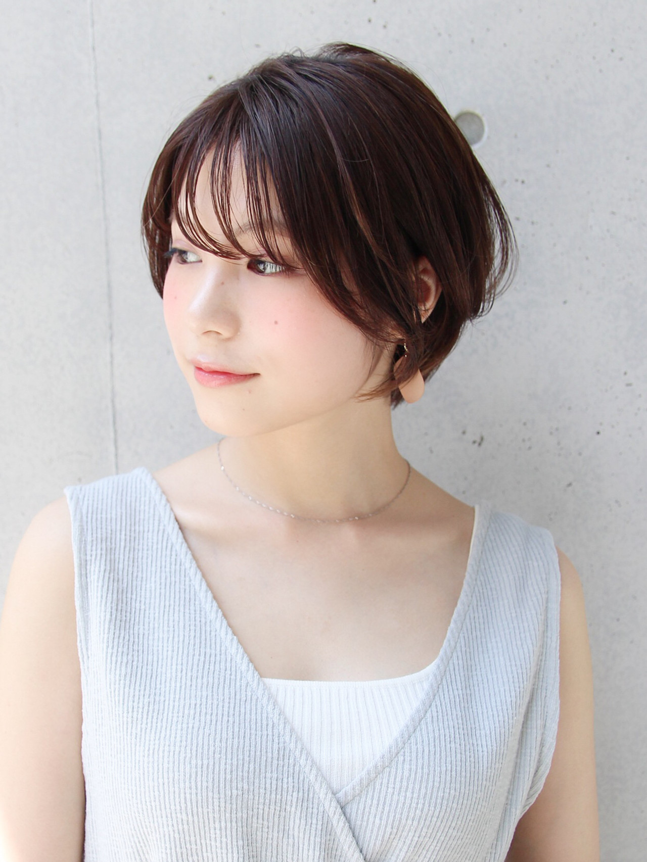 ショート 大人かわいい 大人可愛い 大人女子 ヘアスタイルや髪型の写真・画像