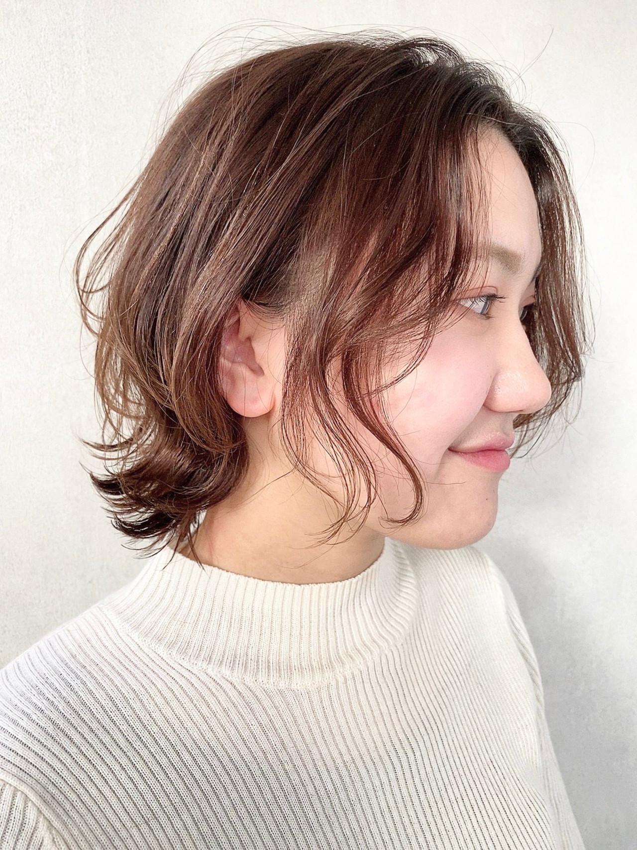 ガーリー ウルフカット ショートボブ ショートヘア ヘアスタイルや髪型の写真・画像